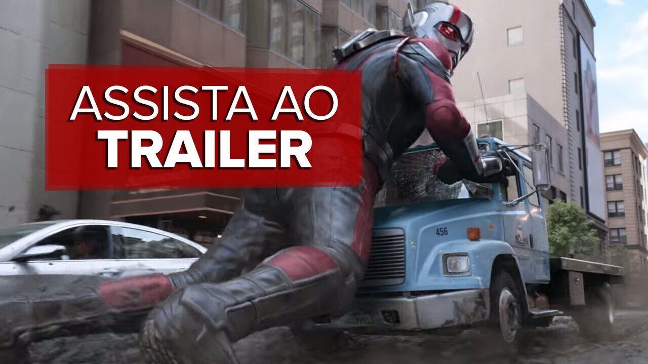 Assista ao trailer de 'Homem-Formiga e a Vespa'