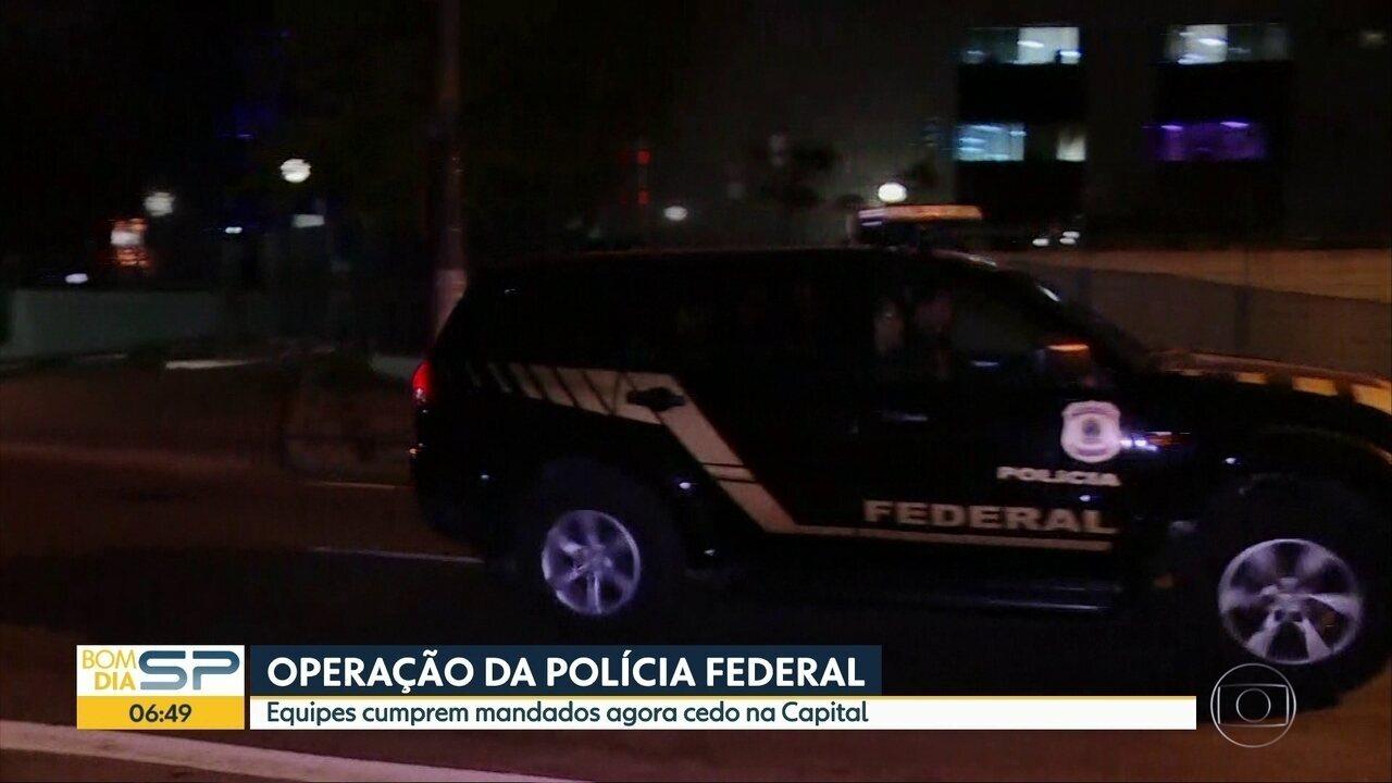 PF cumpre mandados de prisão em SP nova fase da Lava Jato