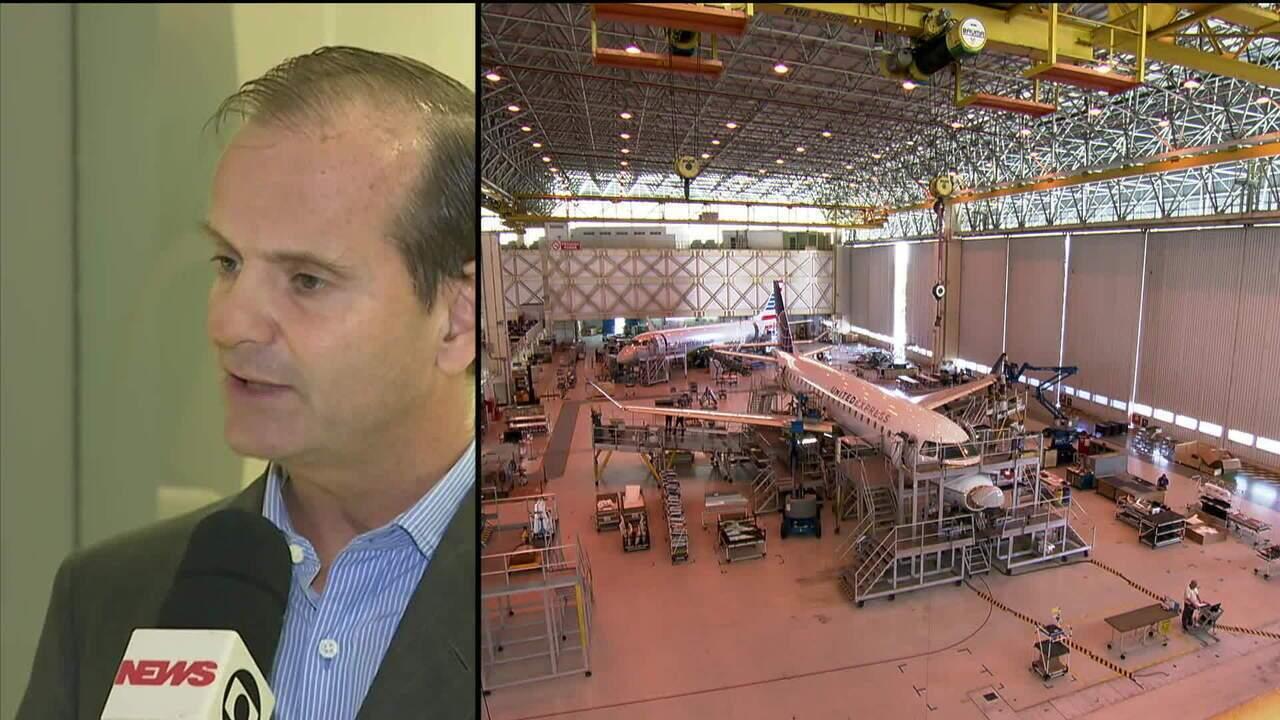 Boeing e Embraer anunciam criação de nova empresa.