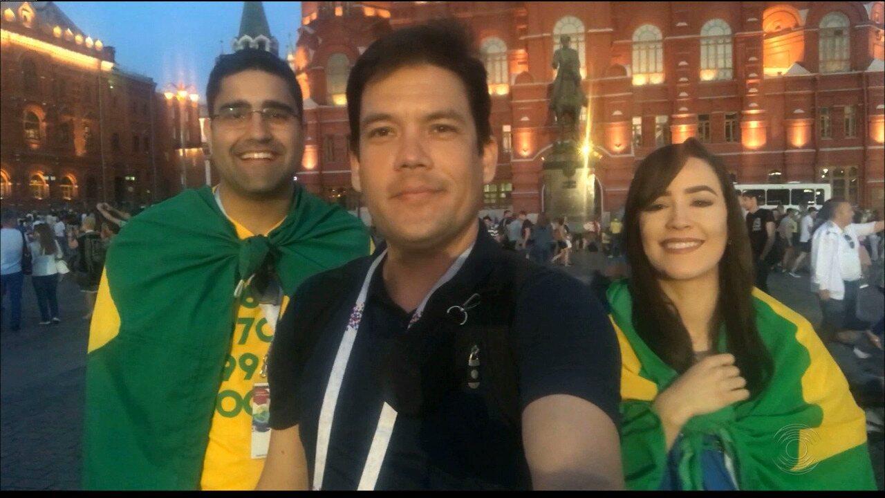 #PartiuRússia: torcedores do Botafogo-PB fazem sucesso em Moscou e apostam no hexa