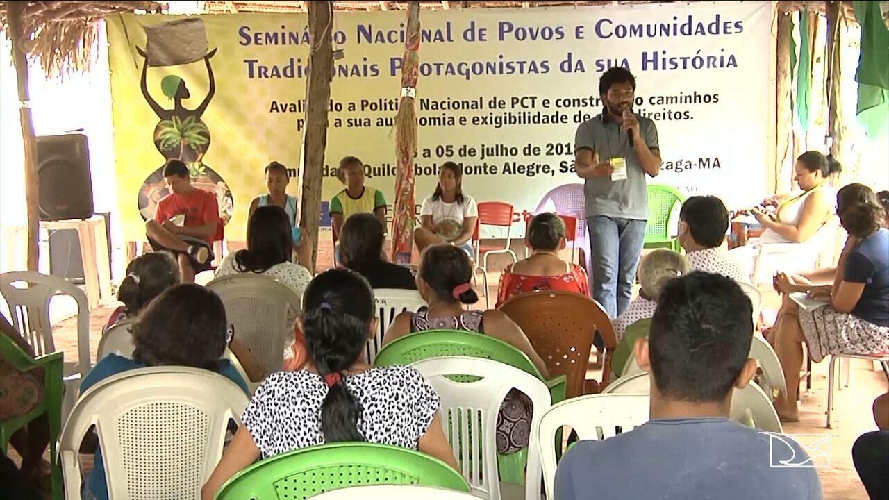 Seminário discute soluções para comunidades tradicionais no MA