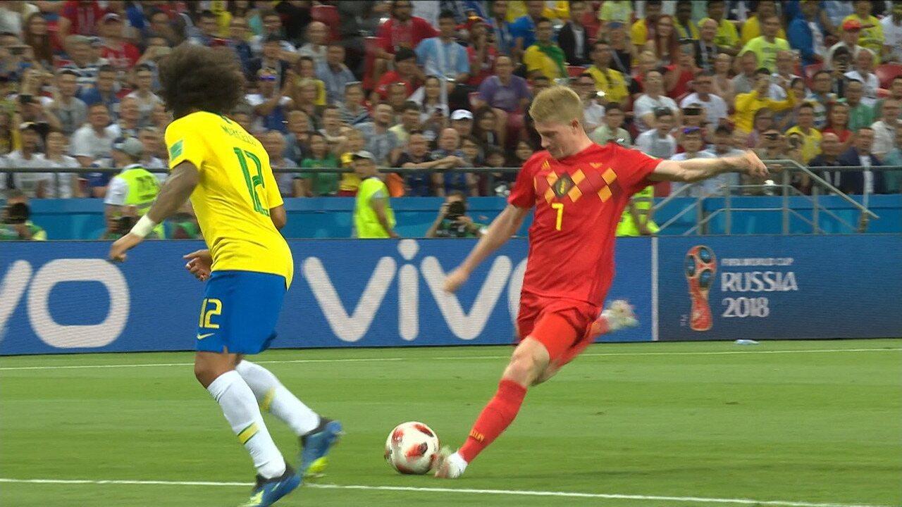 Brasil 1 x 2 Bélgica - Melhores Momentos