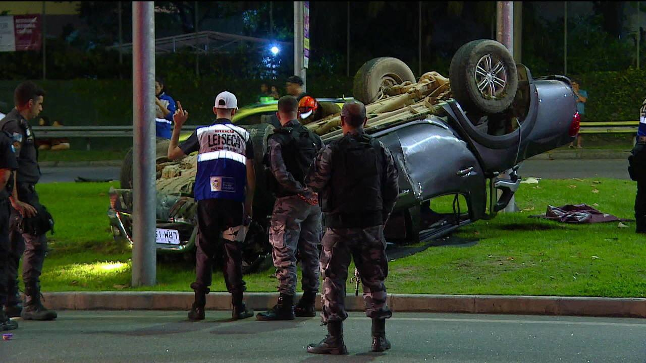 Motorista fura blitz da Lei Seca e atropela agente em São Conrado (RJ)