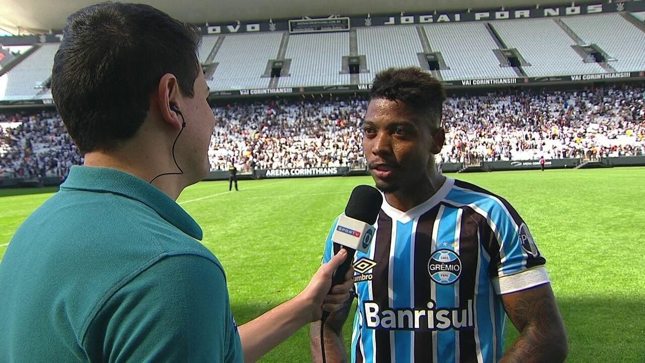 Marinho comenta estreia com a camisa do Grêmio em sua volta ao Brasil f8b78f350bc85