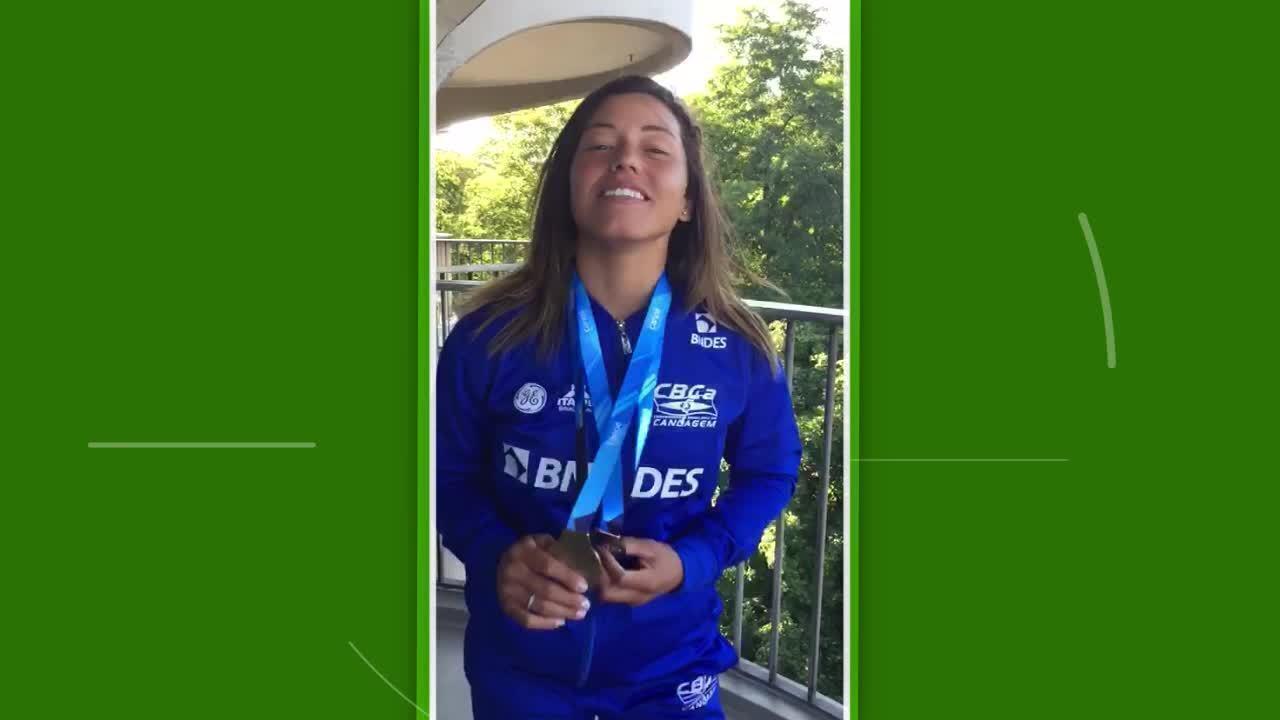 Ana Sátila comemora duas medalhas em etapa da Copa do Mundo de canoagem slalom na Alemanha