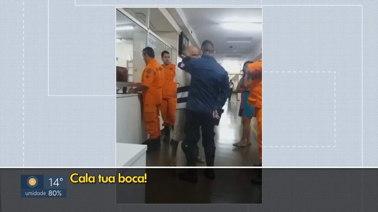 Paciente é agrido por policial militar dentro do Instituto Hospital de Base