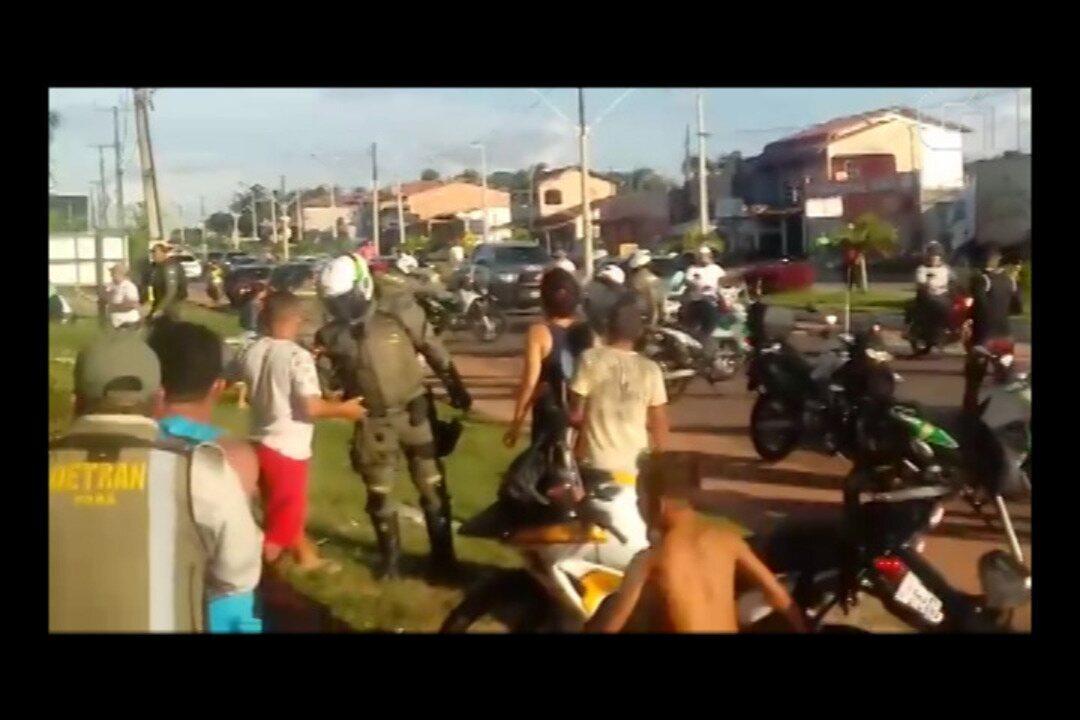 Operação Lei Seca provoca tumulto e tem até tiros em Salinópolis, no último domingo (8).