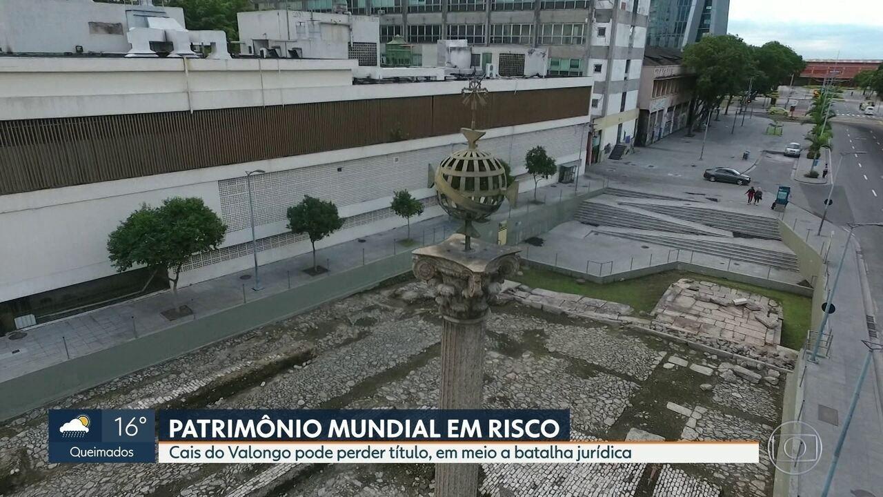 Cais do Valongo corre o risco de perder título de Patrimônio Mundial da Unesco