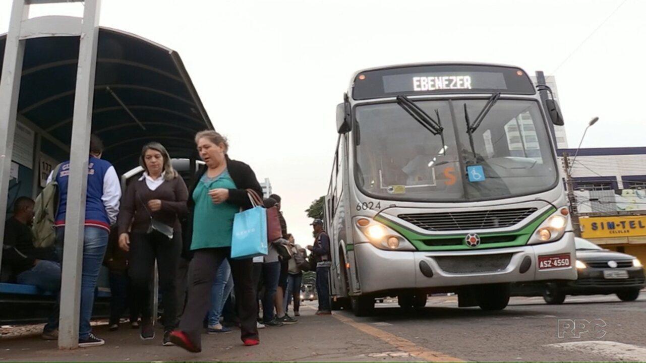 Passagem do transporte coletivo aumenta para R$ 3,90 em Maringá