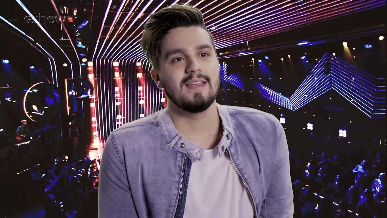Luan Santana fala do desafio de apresentar o 'Só Toca Top'