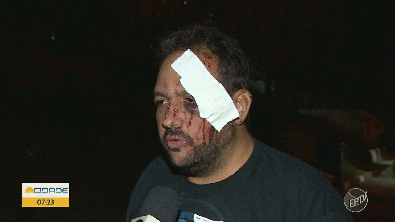 Torcedor do Guarani alega que foi agredido por policiais na entrada do Brinco de Ouro