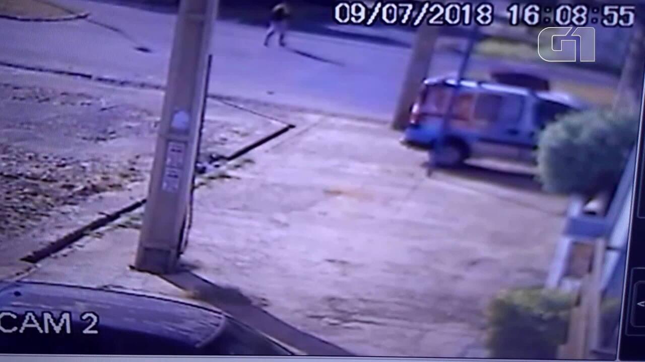 Imagens de câmeras de segurança mostram ação de suspeito de matar dono de academia