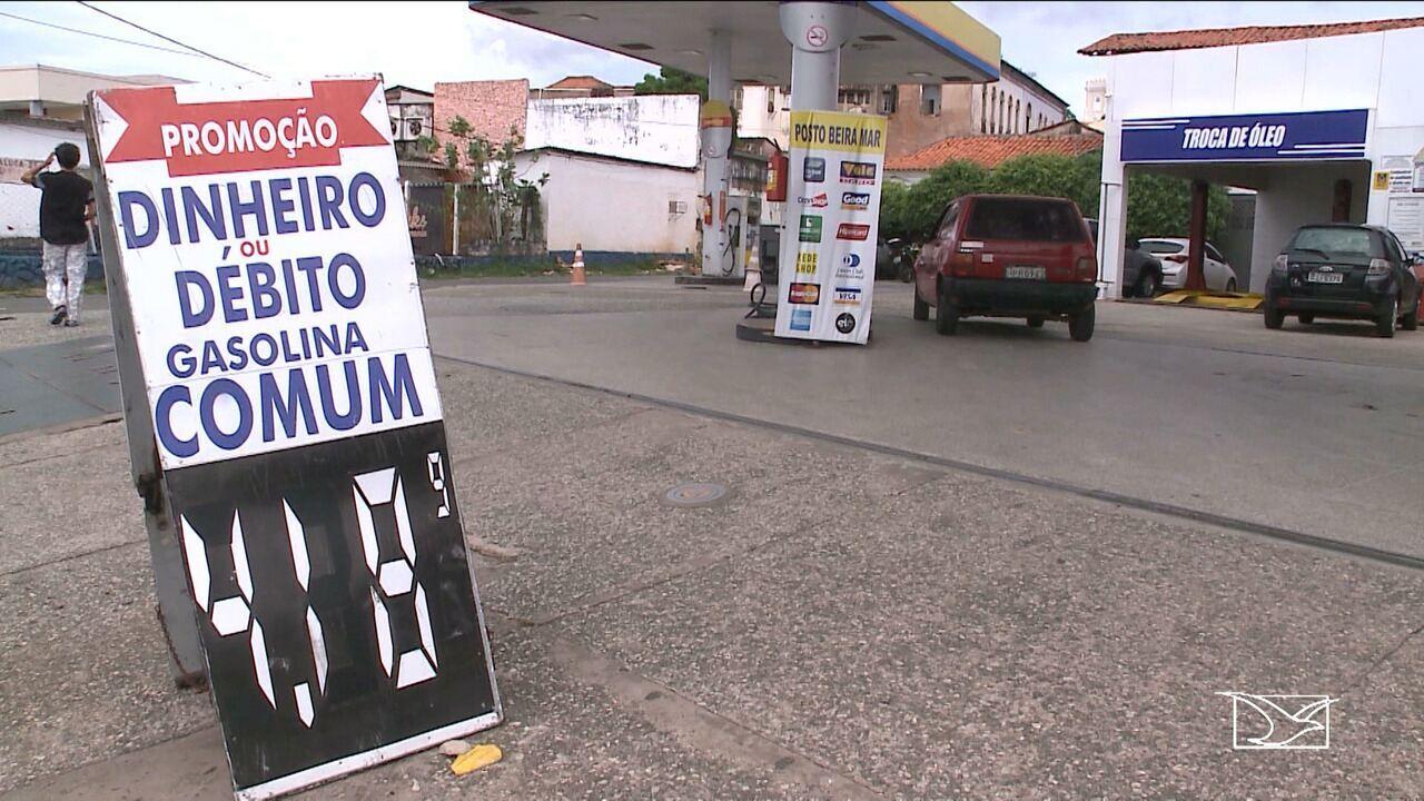 Gasolina no Maranhão teve maior aumento do país após greve dos caminhoneiros