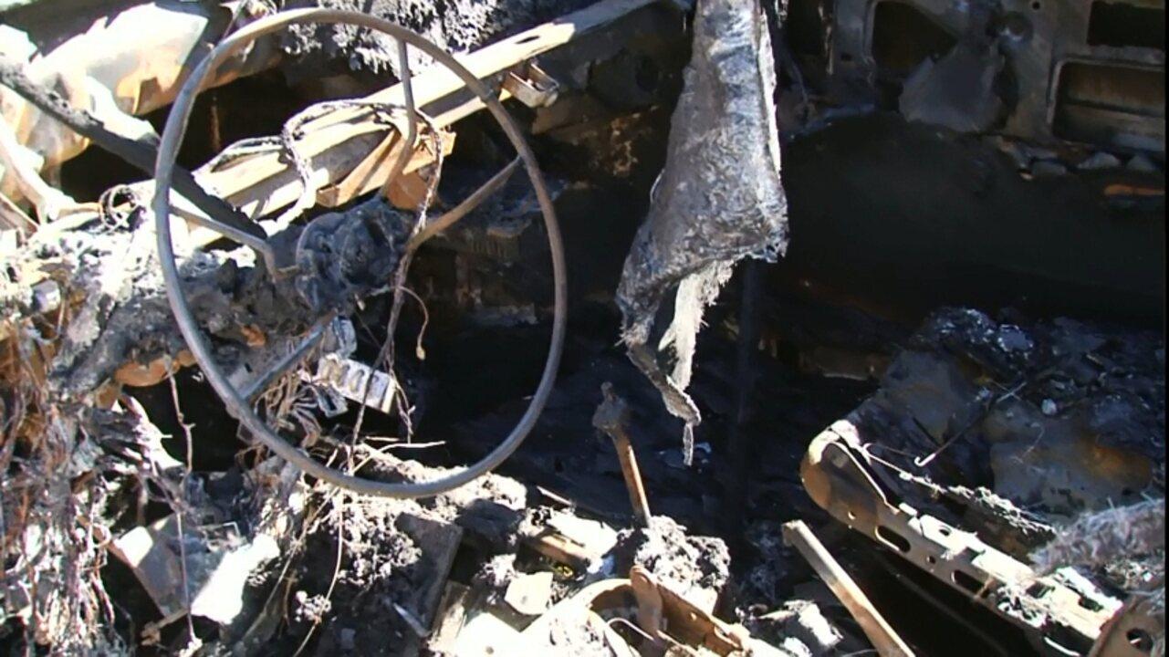Carros incendiados em Pitanga estão preocupando moradores