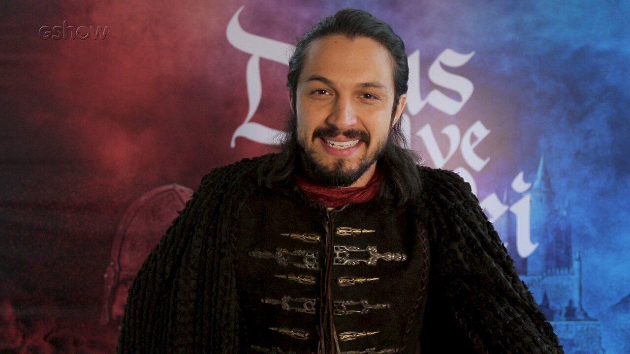 Romulo Estrela comenta cena em que Afonso desmascara Catarina