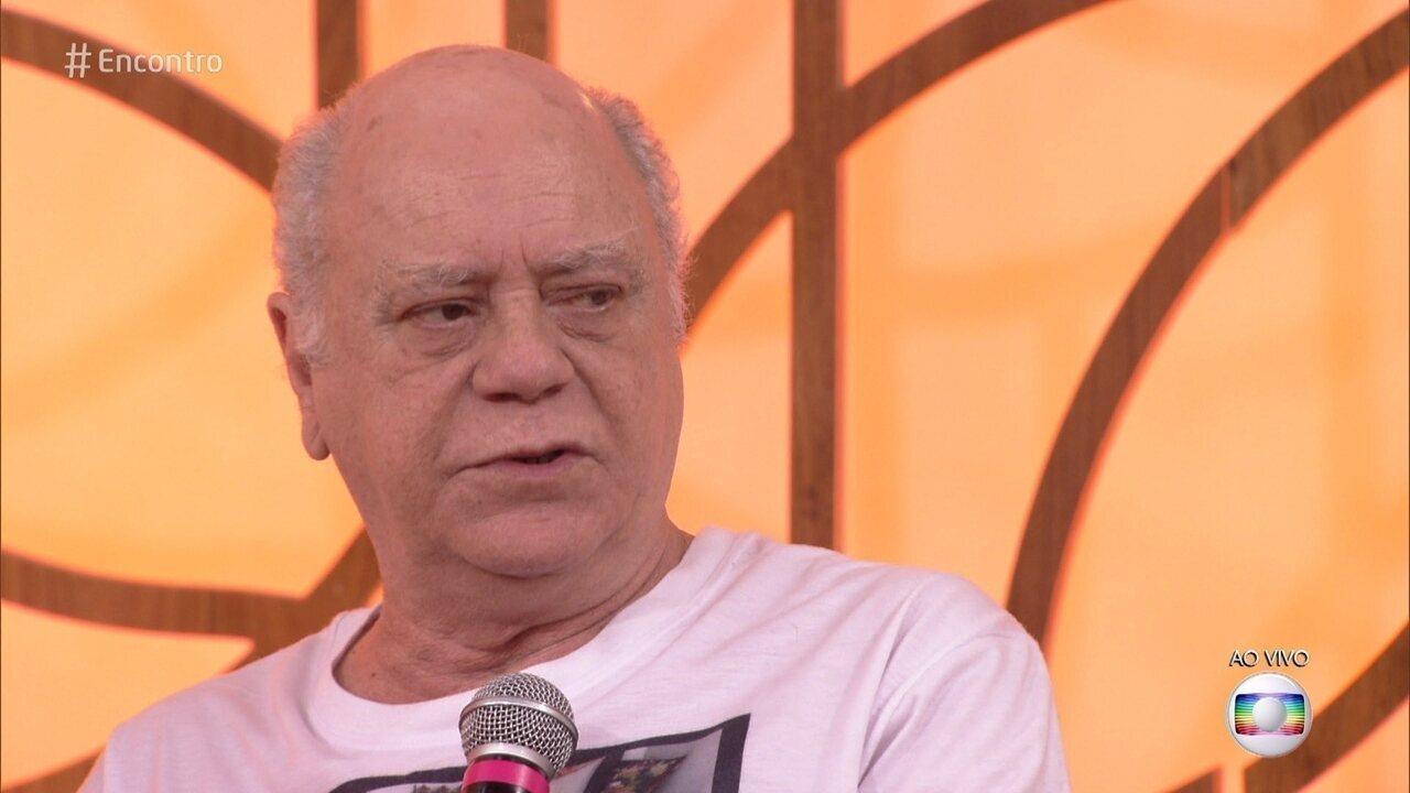 Tonico Pereira teve gêmeos aos 57 anos