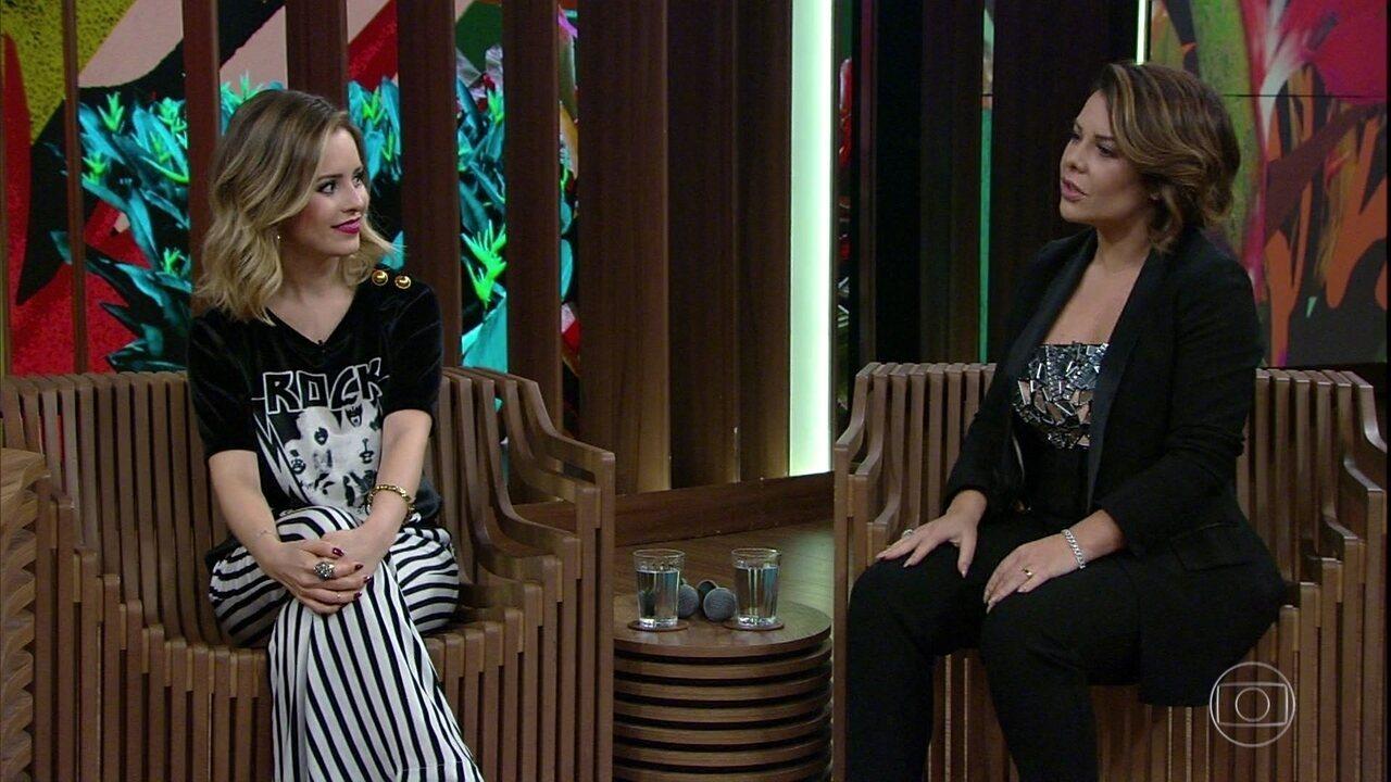 Sandy e Fernanda Souza falam sobre exposição de suas vidas e comentam algumas declarações