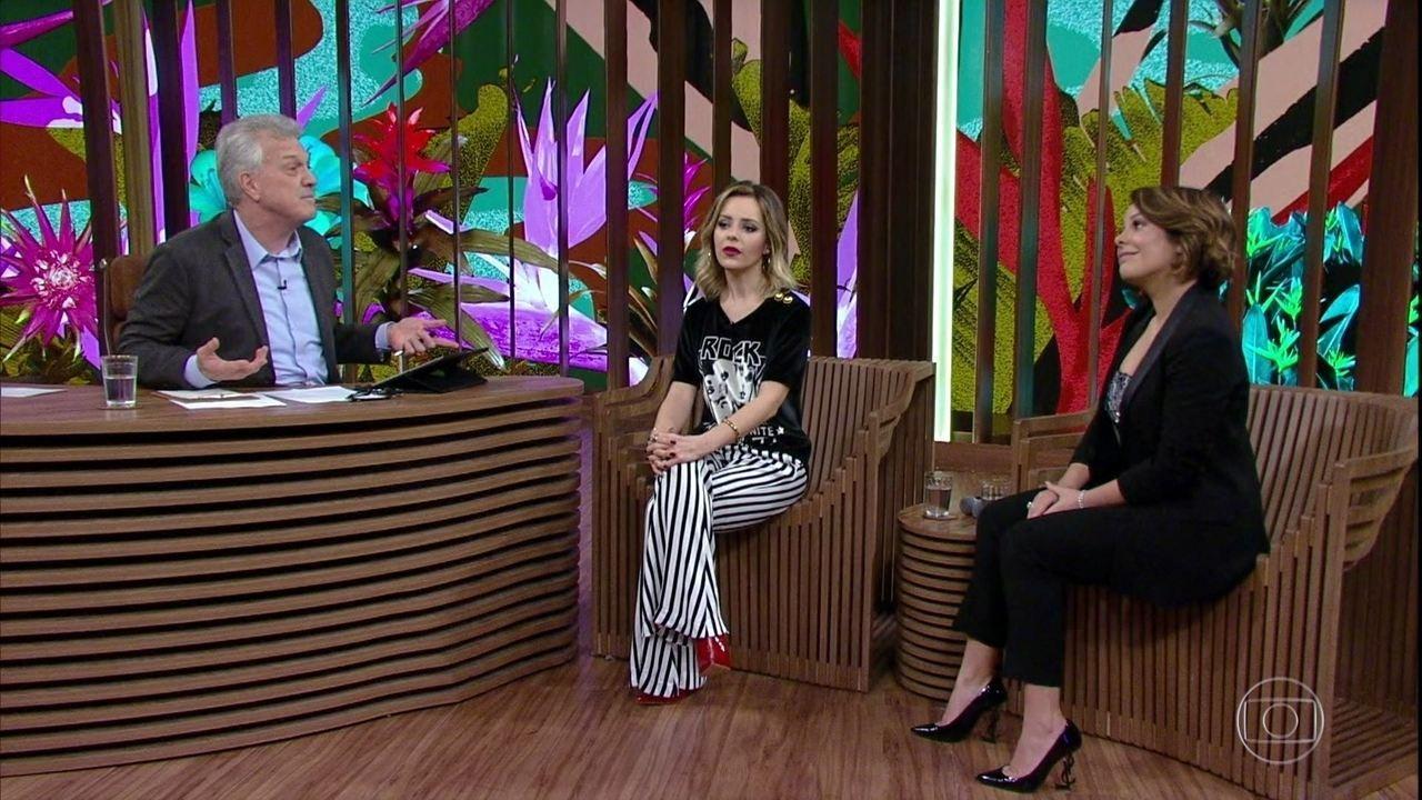 Sandy e Fernanda Souza falam sobre os 30 anos