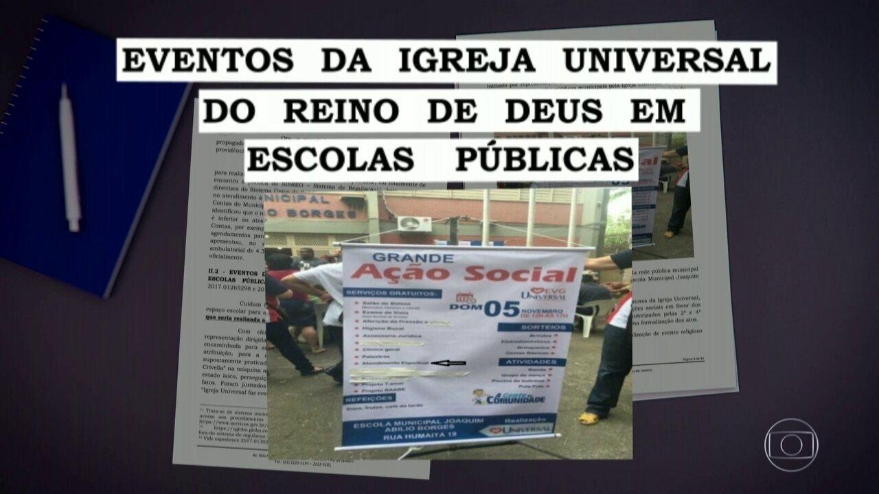 Ministério Público do RJ denuncia prefeito Crivella por improbidade administrativa