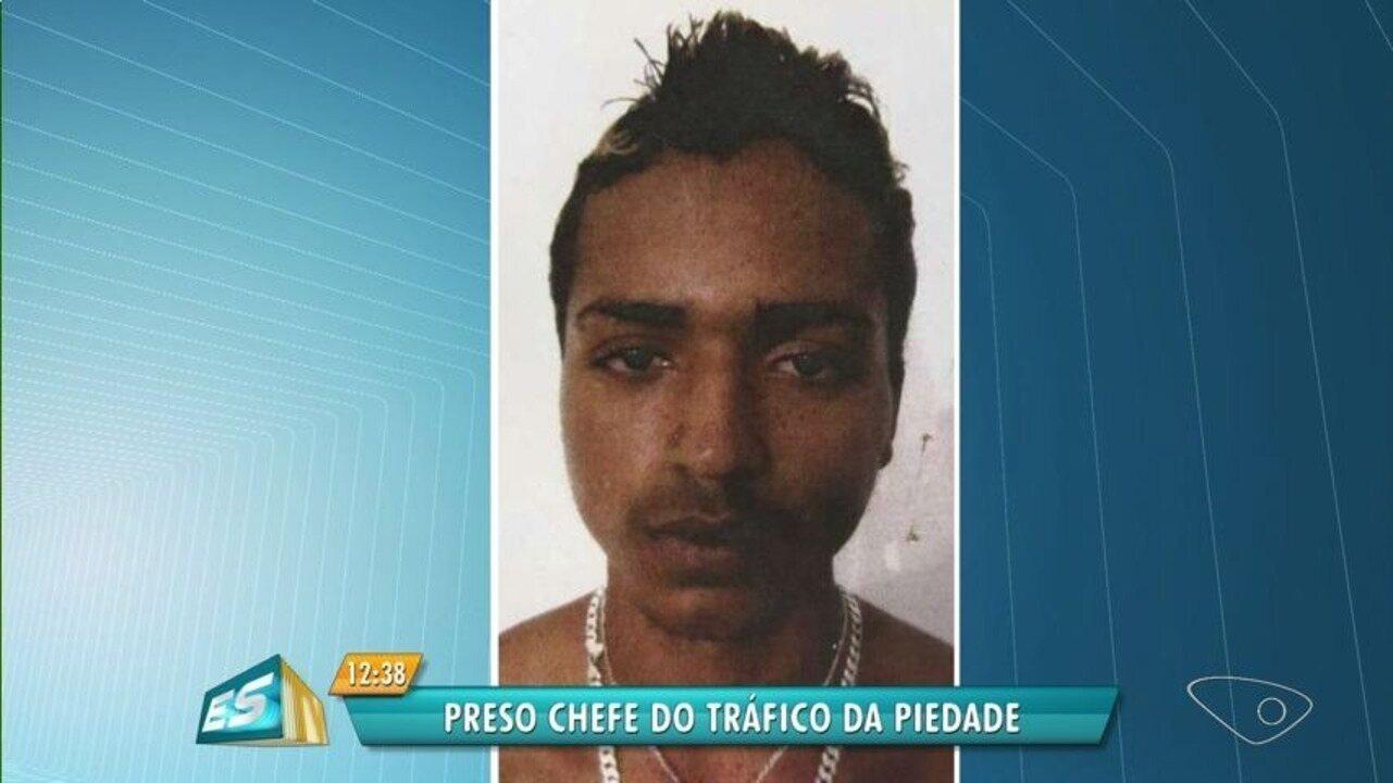 Chefe do tráfico no Morro da Piedade é preso em Viana, no ES