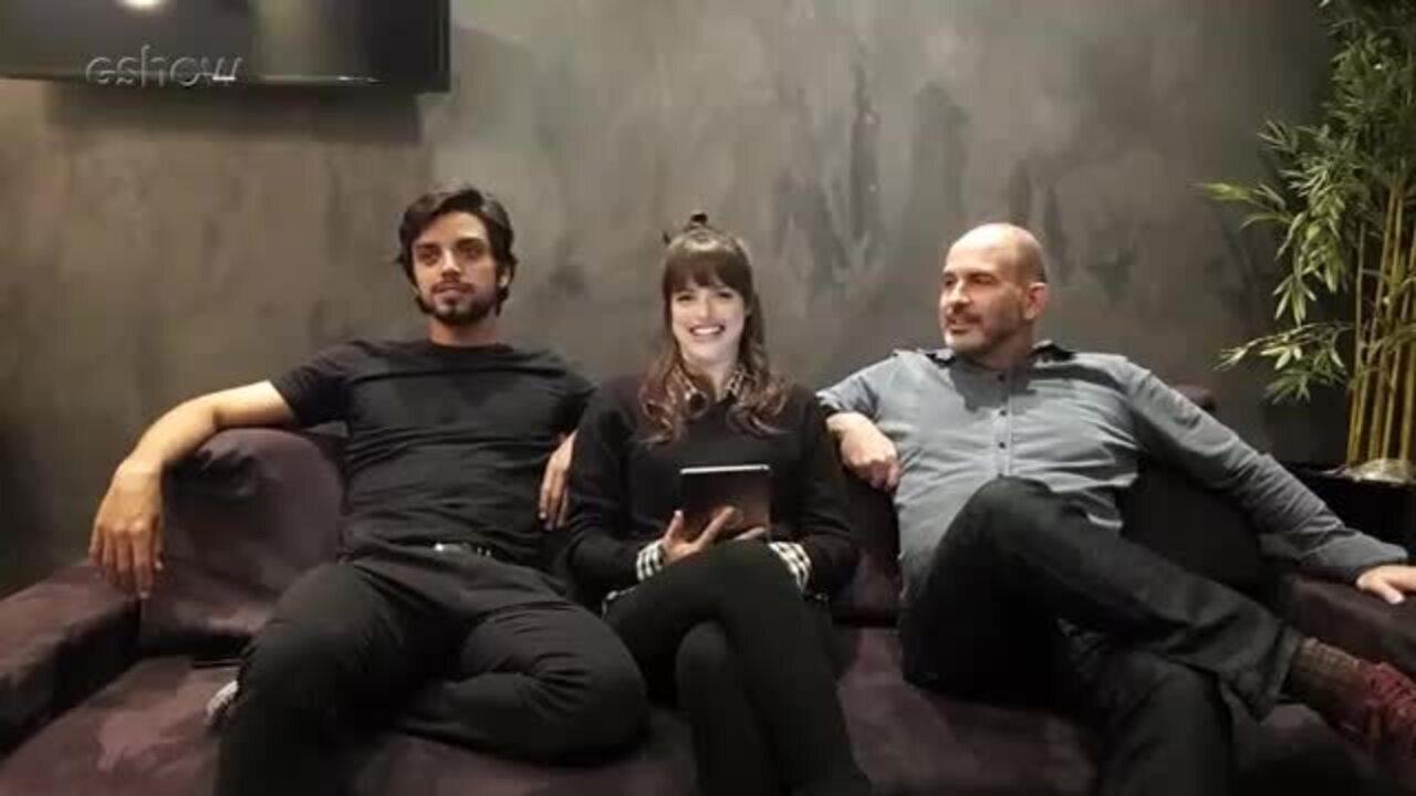 Live: Marcos Bernstein, Agatha Moreira e Rodrigo Simas comemoram o capítulo 100 de 'Orgulho e Paixão'