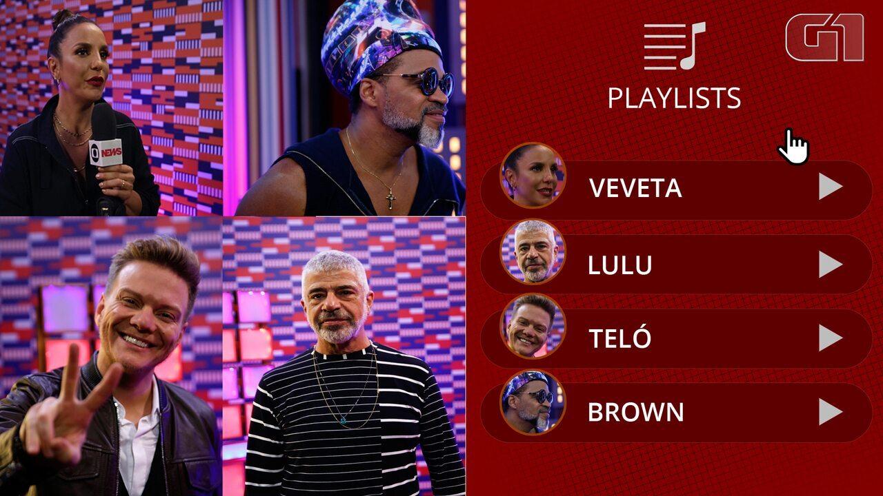 The Voice Brasil: Veja curiosidades musicais sobre os técnicos Ivete, Teló, Lulu e Brown