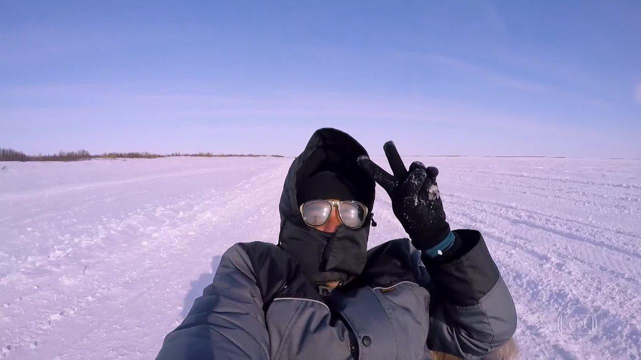 Objetivo alcançado: Luciano Huck e equipe encontram os Nenets!