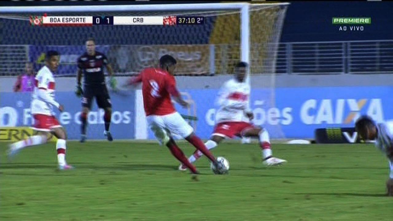 Boa Esporte não levou perigo ao gol do CRB
