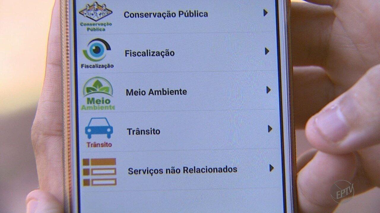 Aplicativo 'Fala Cidadão' ajuda moradores a fazerem reclamações a prefeitura de Ribeirão P