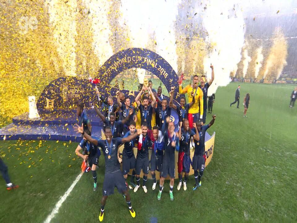 França Bicampeã mundial! A saga do título francês na Copa do Mundo 2018
