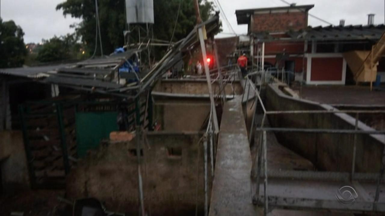 Explosão de caldeira em frigorífico deixa dois mortos e quatro feridos em Taquara