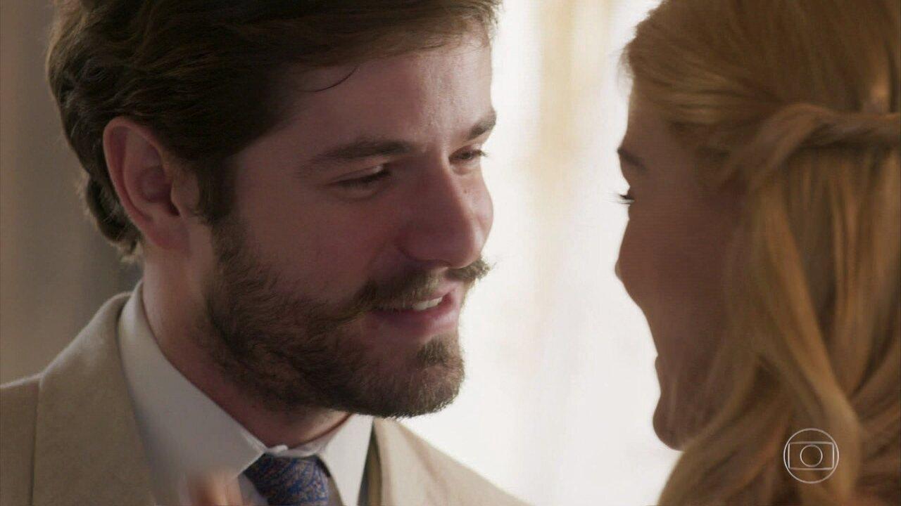 Jane e Camilo se casam de verdade com um juiz de Paz