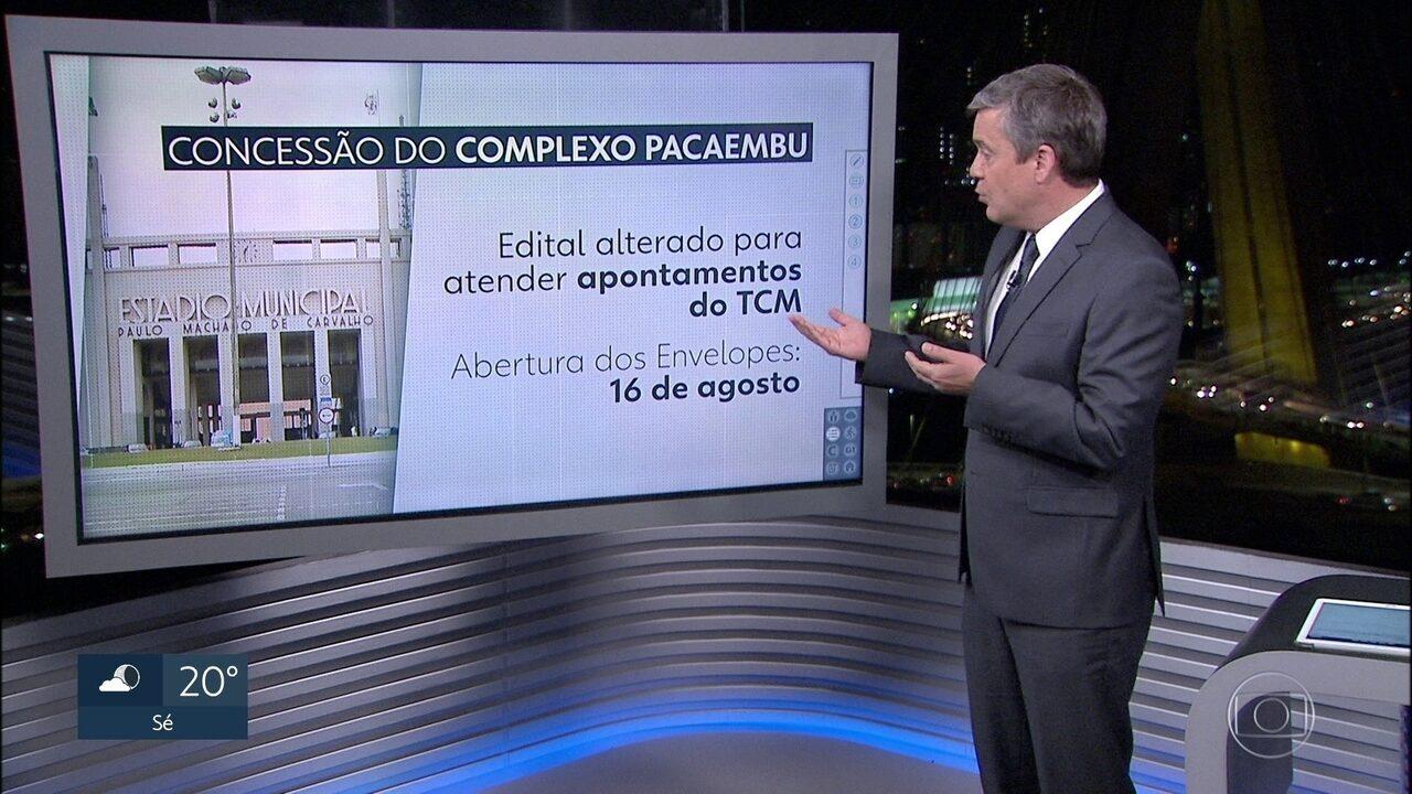 Associação quer barrar concessão do Estádio do Pacaembu