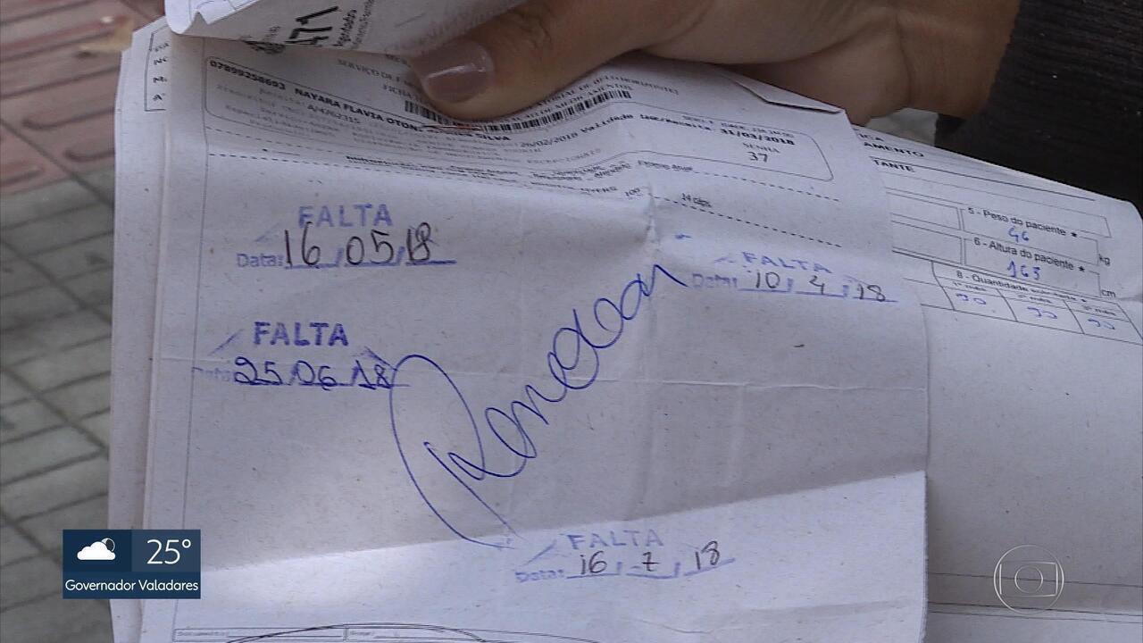 Pacientes têm dificuldade em conseguir remédios na Farmácia de Minas