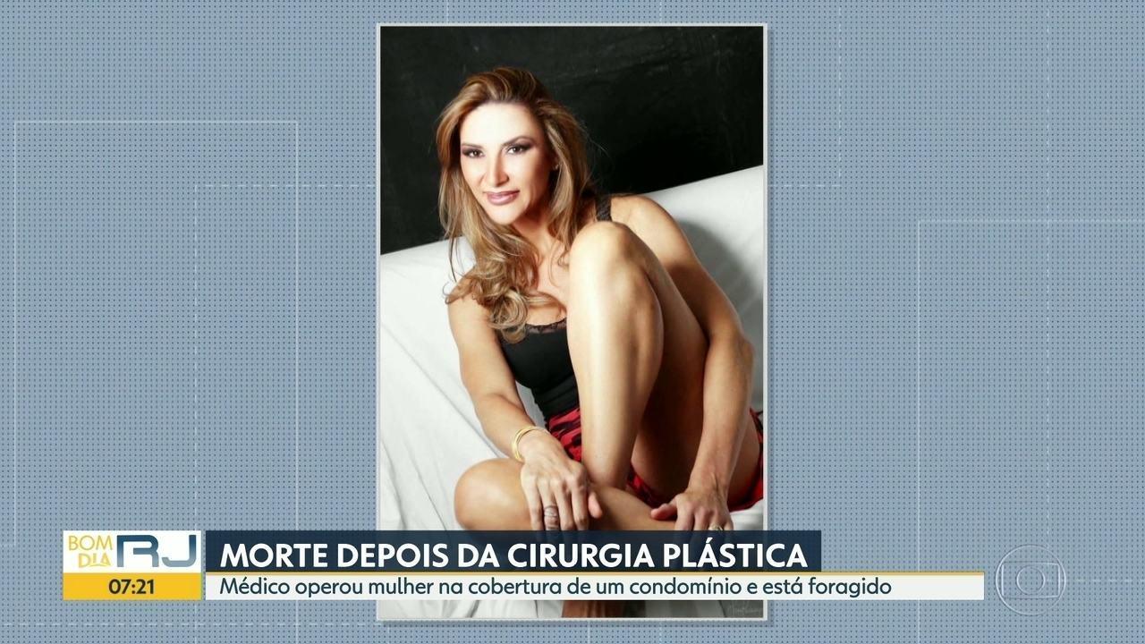 Mulher morre depois de fazer cirurgia plástica no apartamento de um médico