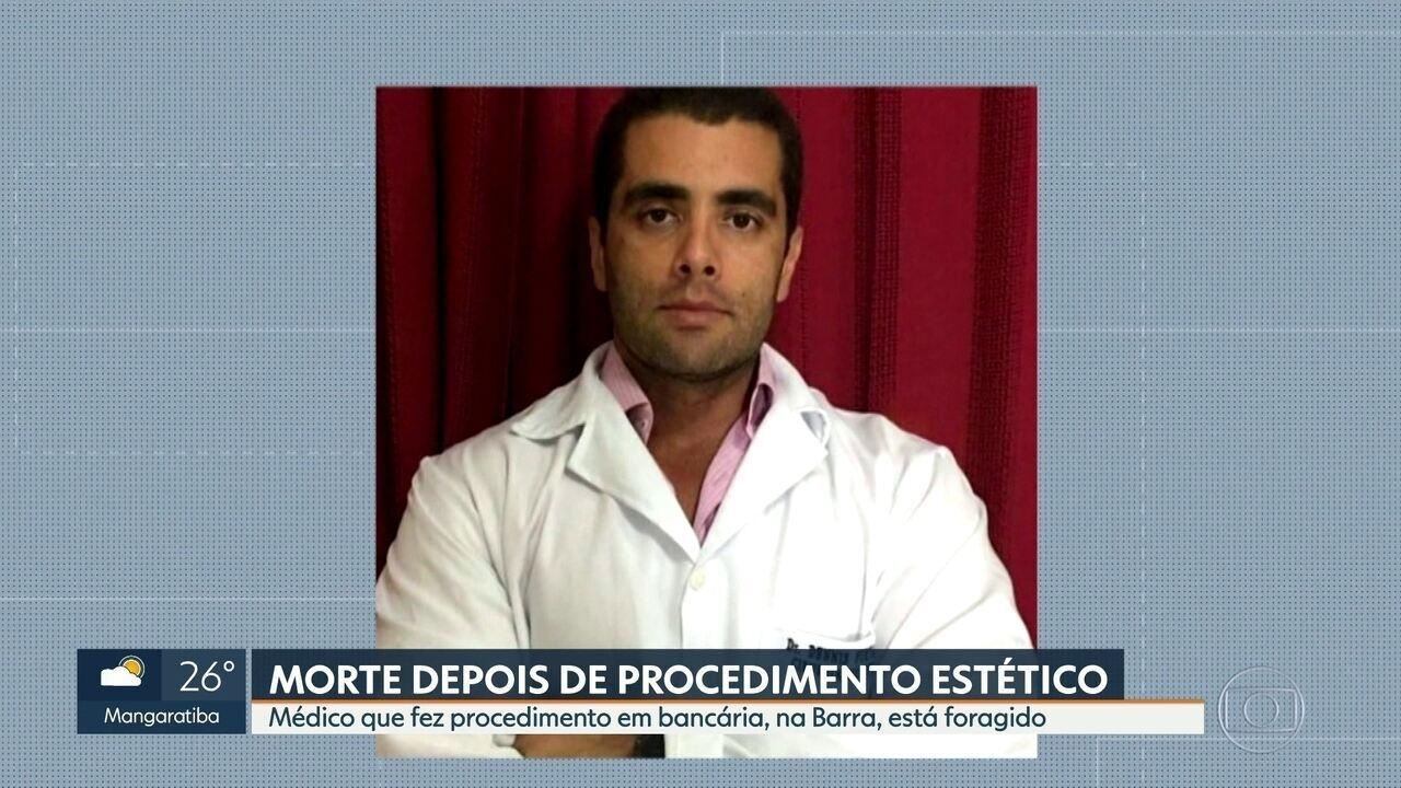 Polícia procura médico que fez procedimento estético em apartamento na Barra