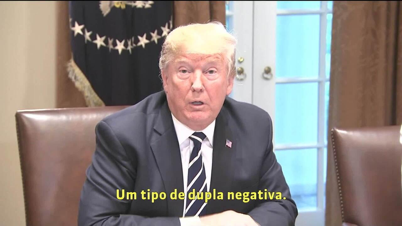 Trump diz que se expressou mal em coletiva na Finlândia