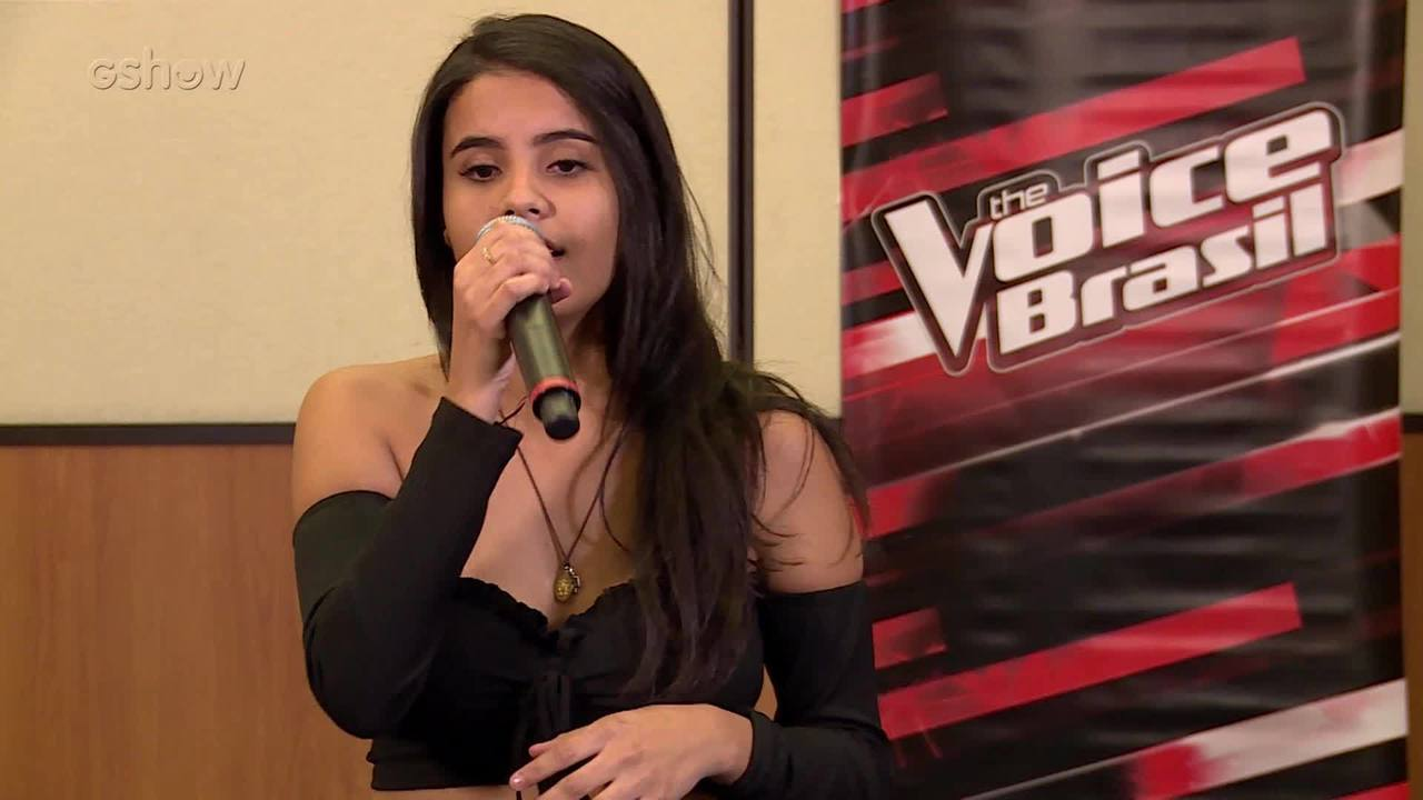Cristiane Santos participa da seletiva do The Voice Brasil