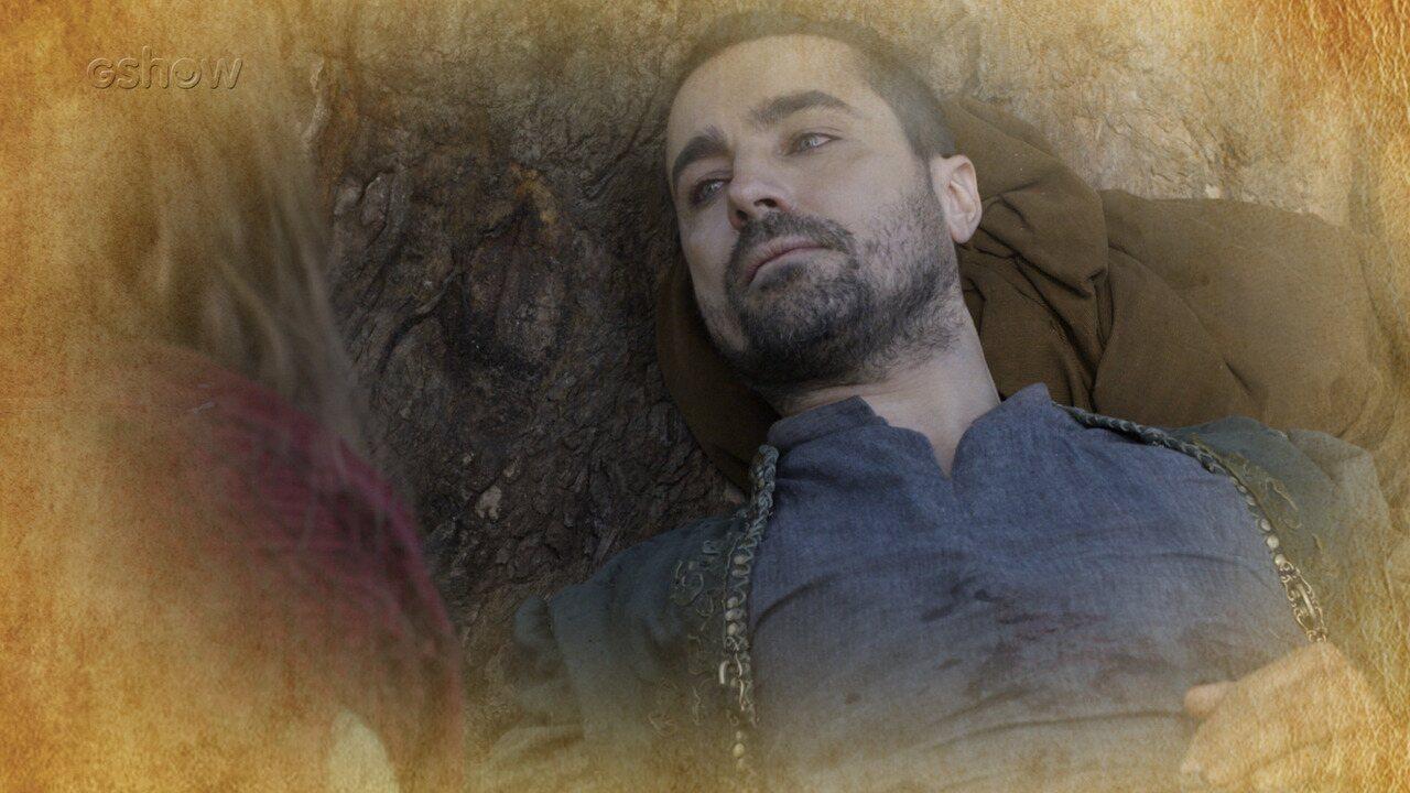 Resumo de 19/07: Virgílio fica gravemente ferido e recebe o perdão de Amália