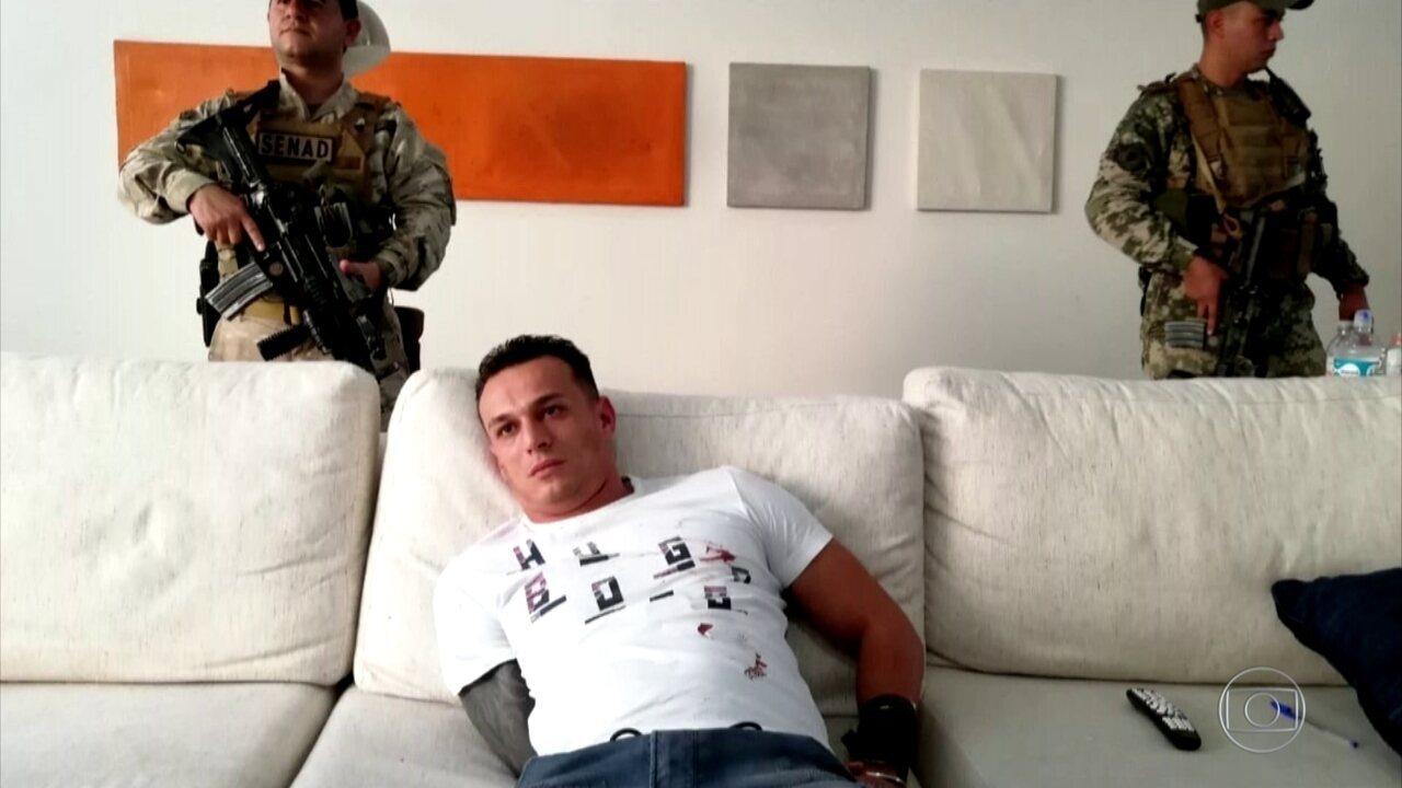 Homem apontado como chefe no Paraguai da maior facção do Brasil é preso em Assunção