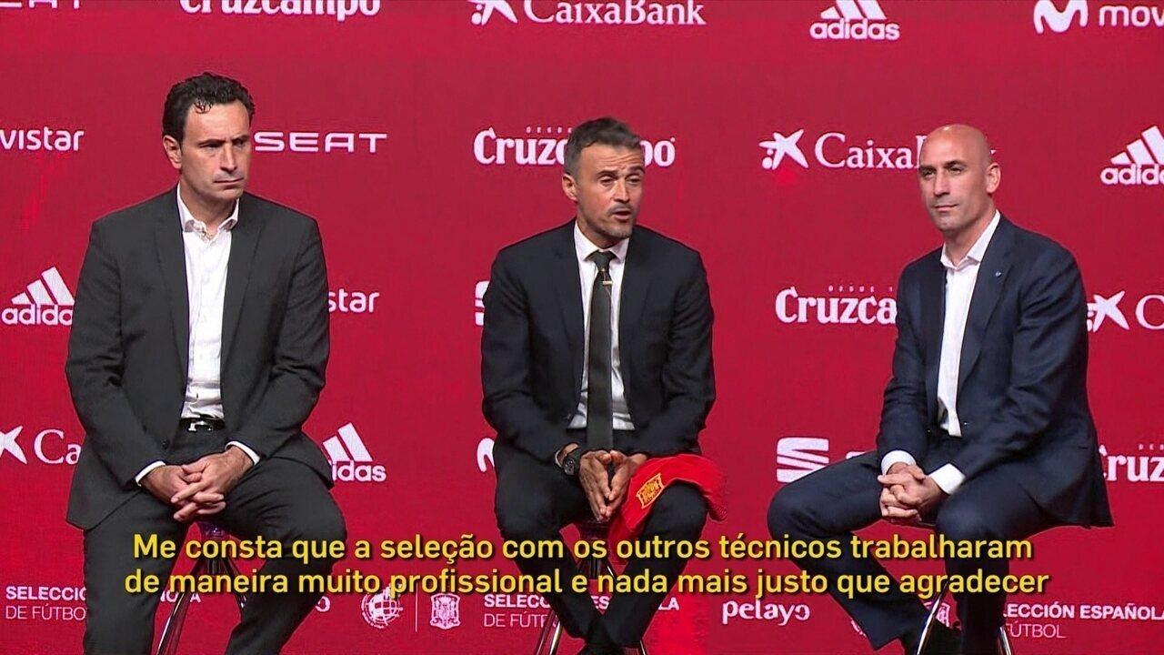 5e10037d98333 Luis Enrique é apresentado como novo técnico da seleção espanhola