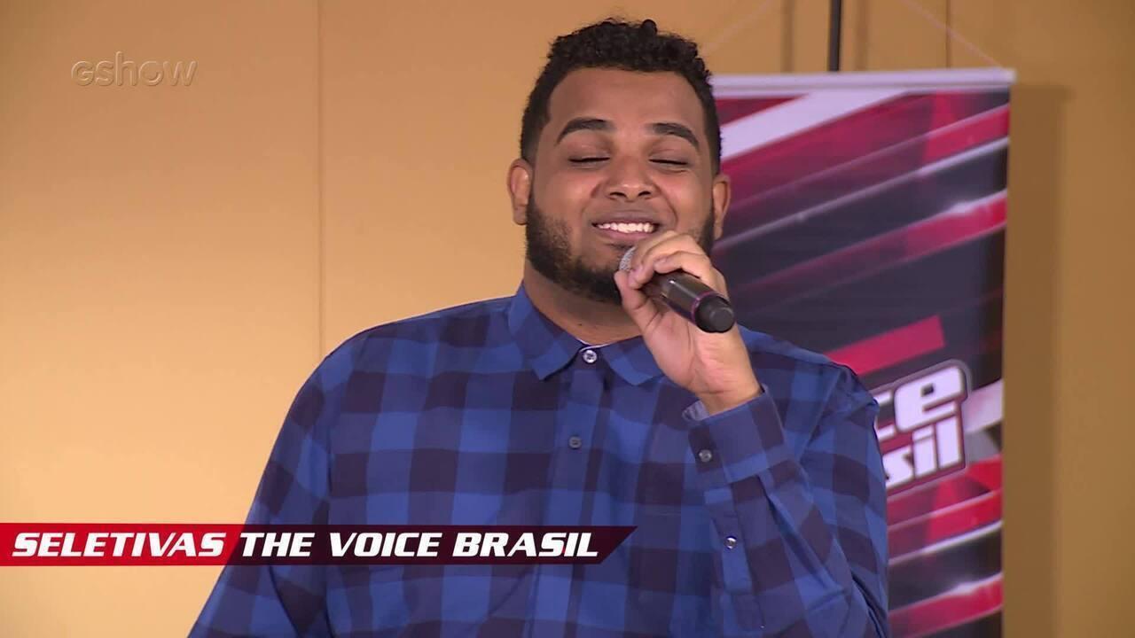 Confira vídeo exclusivo de Alan Camargo na seletiva do The Voice Brasil