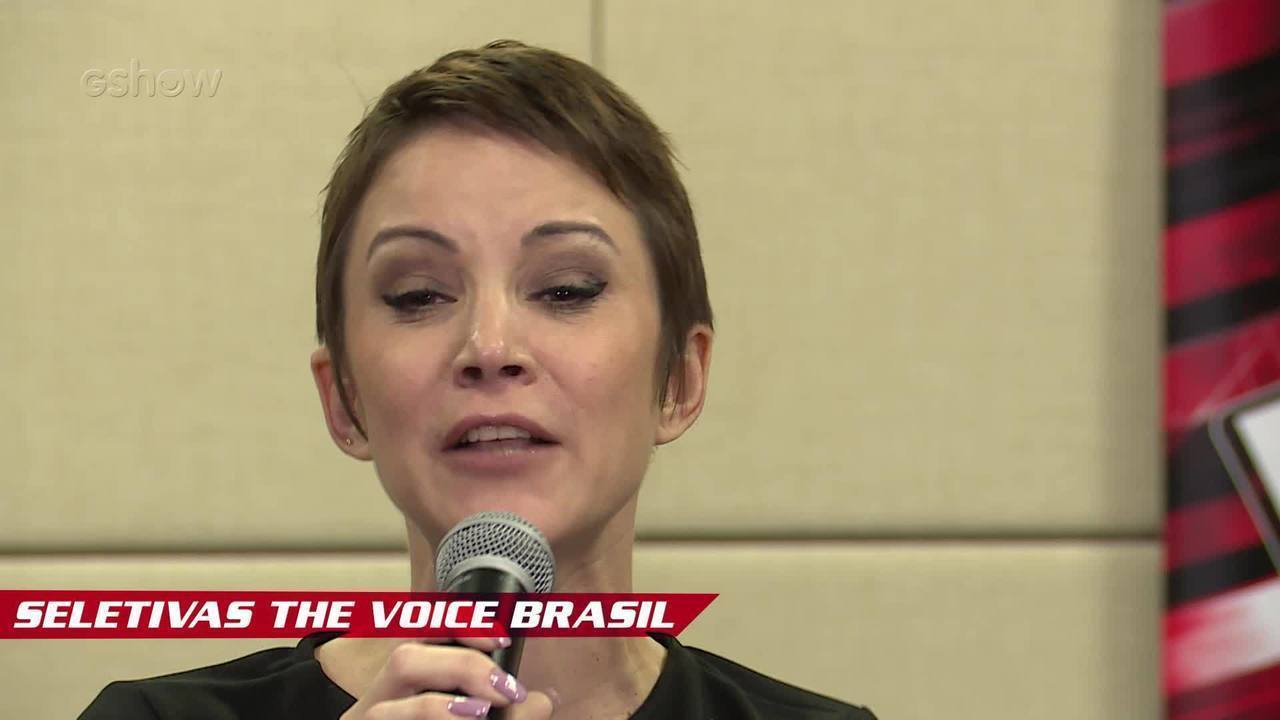 Confira vídeo exclusivo de Rê Adegas nas seletivas de The Voice Brasil
