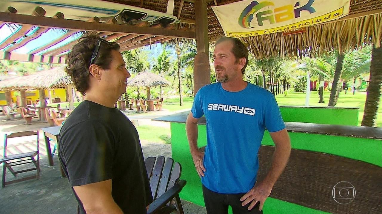 Missão Surfe: conheça o hidrofoil, a mais nova mania dos surfistas