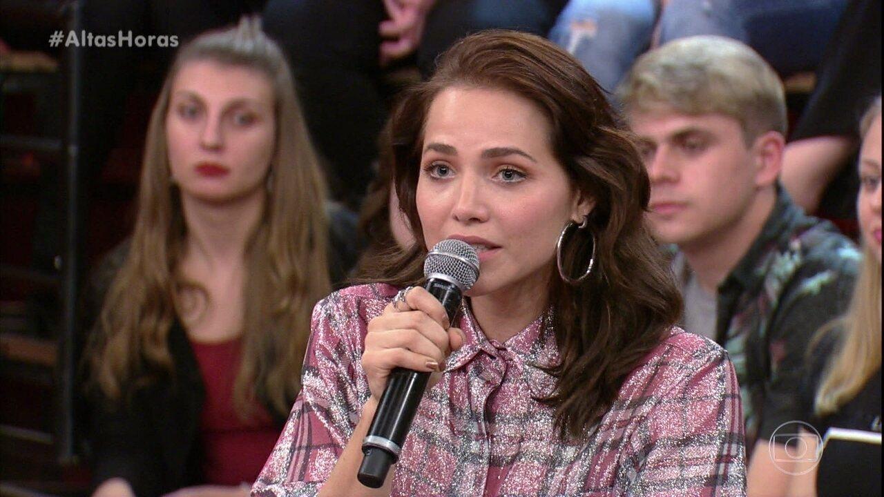 Letícia Colin sobre Rosa: ''Tenho orgulho dela''