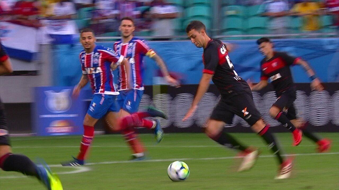Melhores momentos: Bahia 4 x 1 Vitória pela 14ª rodada do Brasileirão