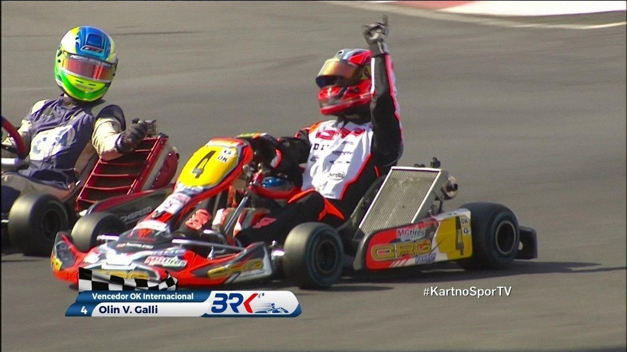 Olin Galli vence a categoria OK e fatura o sétimo título brasileiro de Kart