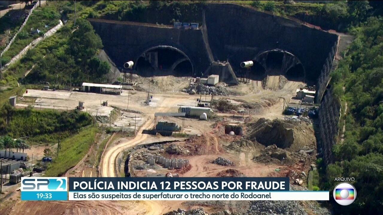 Polícia Federal indicia 12 pessoas por suspeita de envolvimento em fraude no Rodoanel