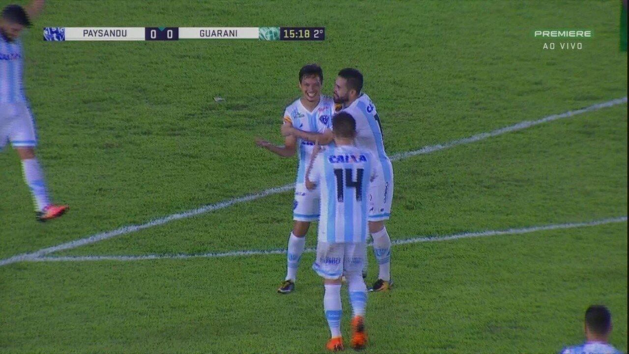 Os melhores momentos de Paysandu 1x0 Guarani, pela 17ª rodada da Série B