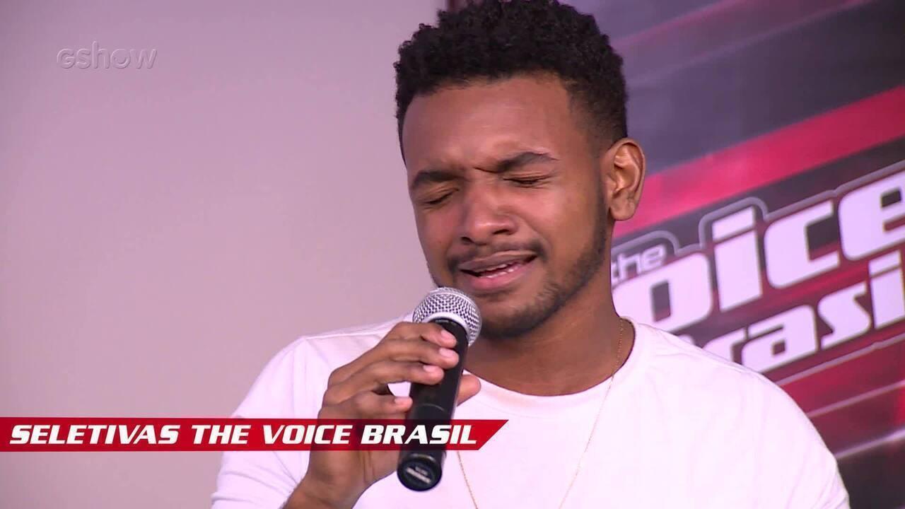 Confira vídeo exclusivo de Ramon Nascimento na seletiva do The Voice Brasil